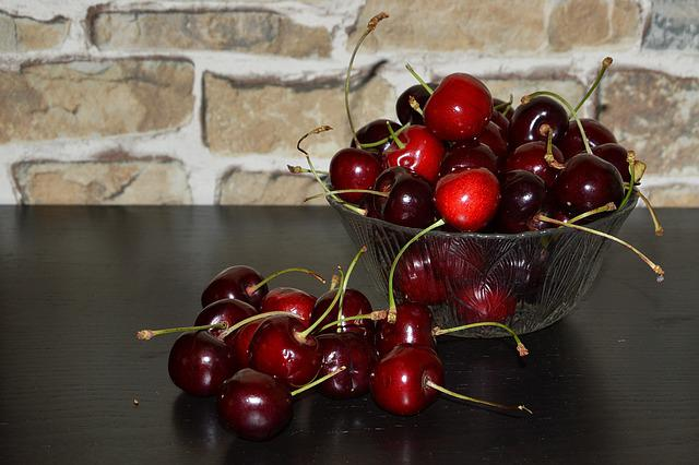 Cherries, Red, Sweet, Sweet Cherries, Fruit