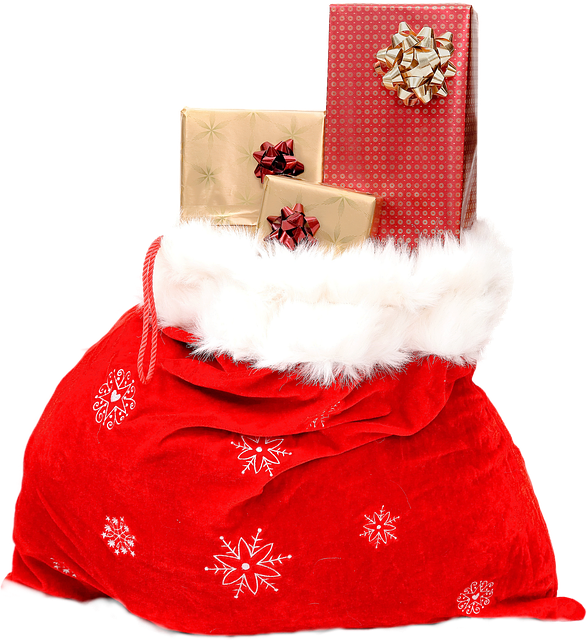 Isolated, Christmas Sack, Celebrate, Sweet, Gifts