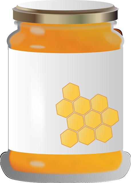 Honey, Glass, Honey Glass, Sweet, Bee, Delicious