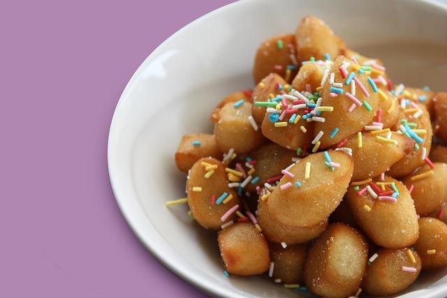 Sweet, Struffoli, Typical Sweet, Dessert, Food, Recipe