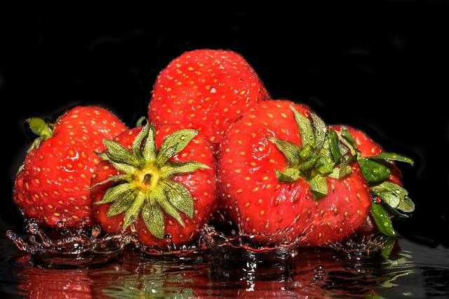 Strawberries, Fruit, Fruits, Sweet, Delicious, Food