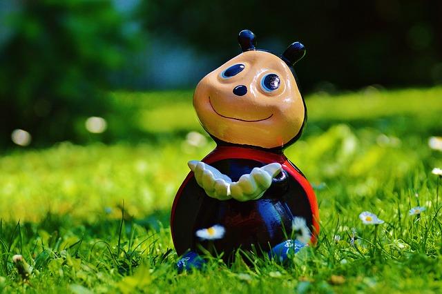 Ladybug, Figure, Funny, Lucky Ladybug, Color, Sweet