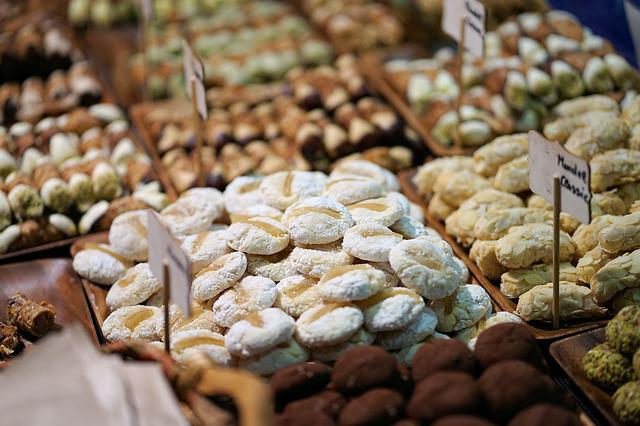 Chocolates, Sweet, Food, Market, Refreshment, Gourmet