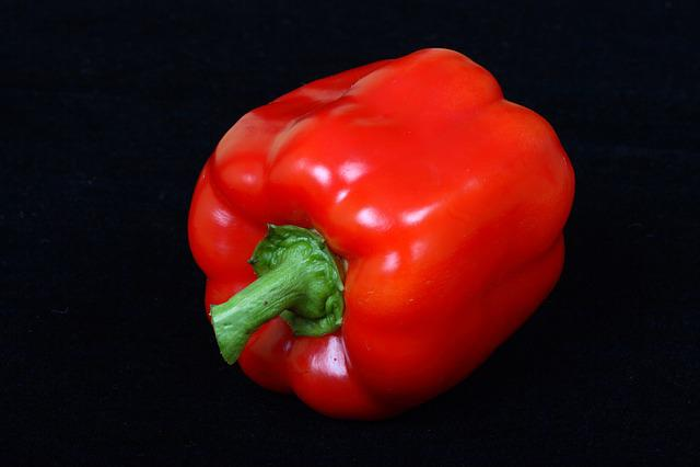 Vegetable, Red, Sweet Pepper