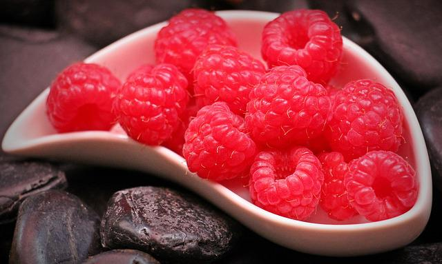 Raspberries, Fruits, Fruit, Red, Sweet, Berry