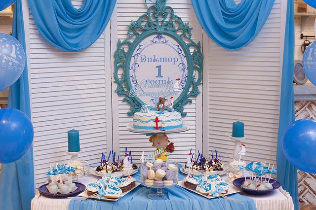 Candy Bar, Sweet Table, Cake, Topper, Birthday Party