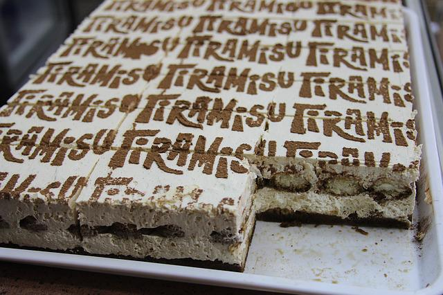 Cake, Sweet, Dessert, Delicious, Tiramisu Cake