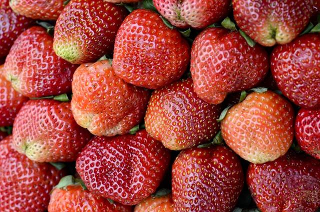 Strawberries, Red, Dalat, Vietnam, Sweet, Fruits