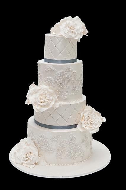 Wedding Cake, Cake, Frosting, Wedding, Food, Sweet