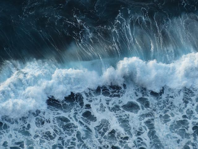 Wave, Sea, Surf, Swell, Foam, Spray, Background