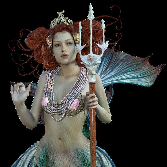 Mermaid, Sirens, Mystical, Sea, Water, Wave, Swim