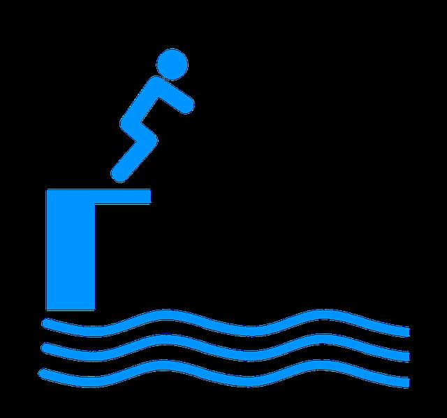 Diving, Swimming Pool, Swimming, Watersport, Swim
