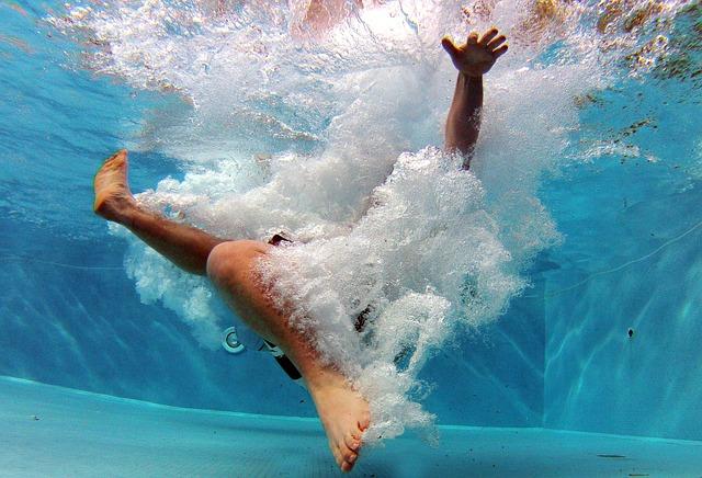 Pool, Swimming Pool, Swim, Underwater, Dive, Water