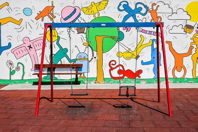 Playground, Swing, Kindergarten, Kids Playground