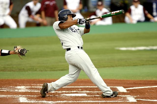 Baseball, Batter, Swinging, Strike, Swing, Home Plate