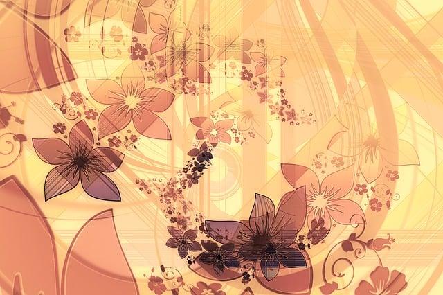 Swirl, Flower, Curlicue, Greeting Card, Kringel