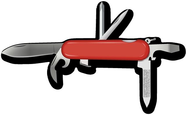 Swiss Army Knife, Knife, Swiss, Tool, Multifunctional