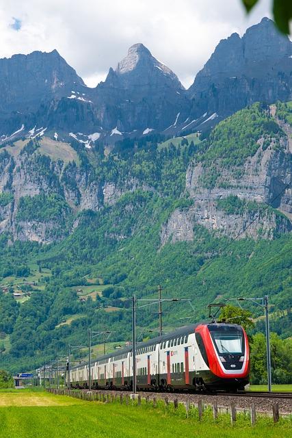 Passenger Train, Sbb, Train, Swiss Federal Railways