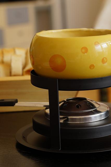 Fondue, Swiss Fondue, Cheese, Cheese Fondue