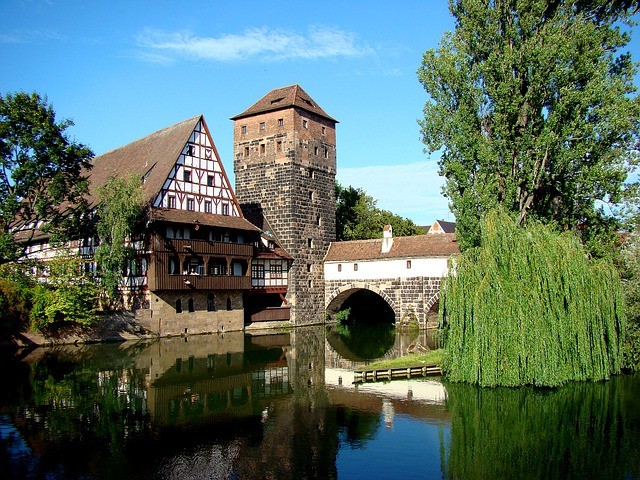Nuremberg, Hangman's Bridge, Old Town, Swiss Francs