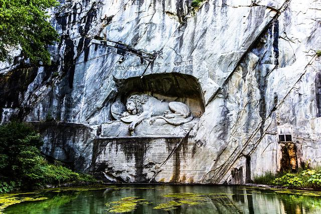 Swiss, Lucerne, Empty Of Lion