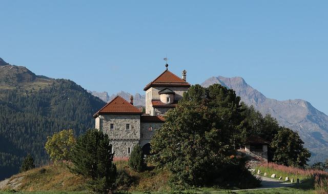Switzerland, Silvaplana, Architecture, Culture, Old