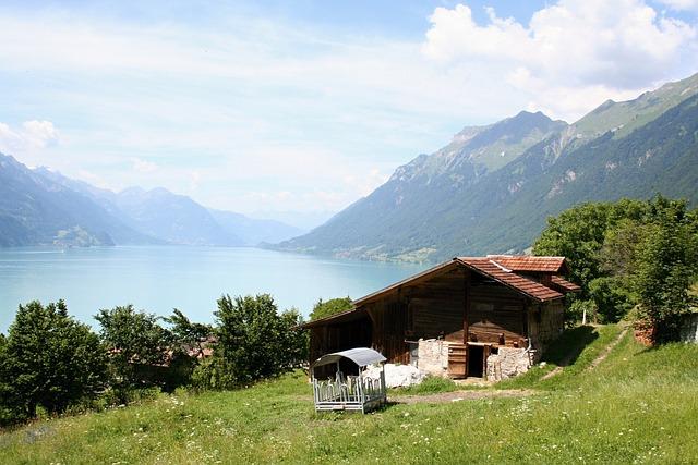 Bernese Oberland, Brienz, Lake Of Brienz, Switzerland