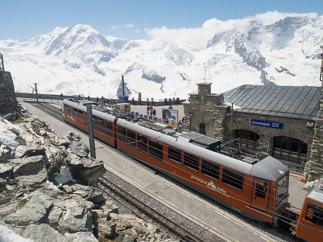 Gornergrat, Rack Railway, Gornergratbahn, Switzerland