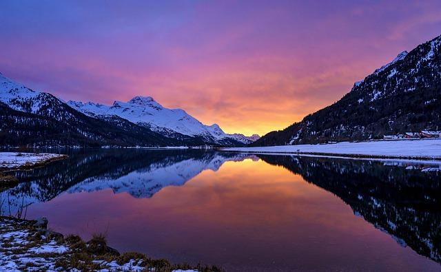 Engadin, Graubünden, Switzerland, Alpine, Mountains