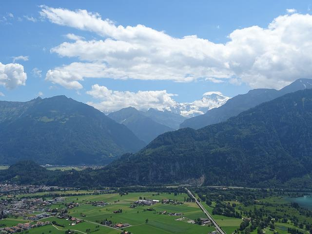 Alpine, Mountains, Switzerland, Interlaken, Lake