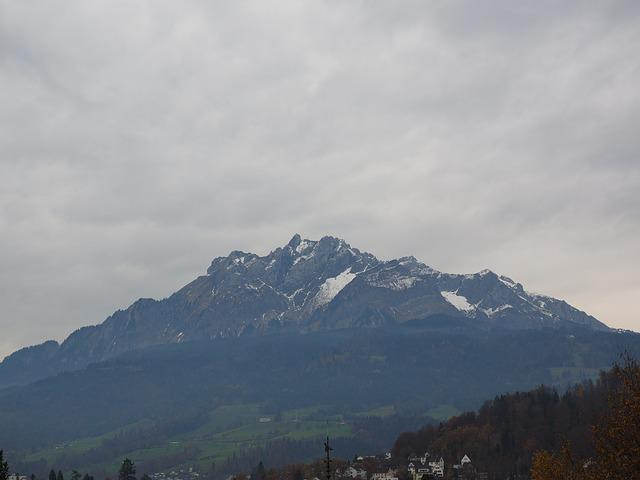 Pilatus, Massif, Mountain, Switzerland, Lucerne