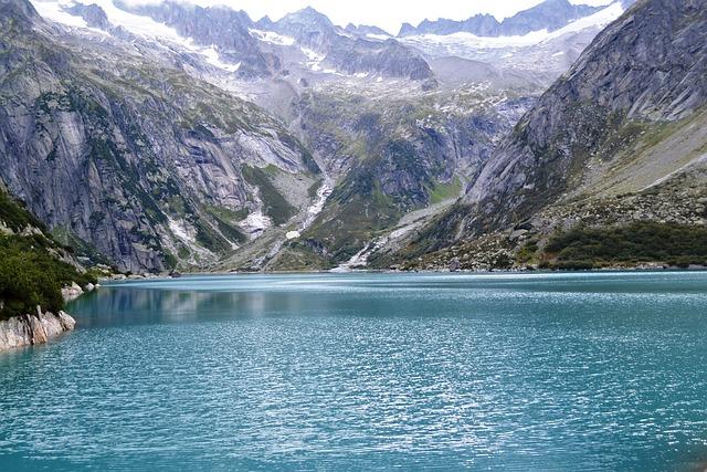 Mountains, Mountain World, Switzerland, Bergsee