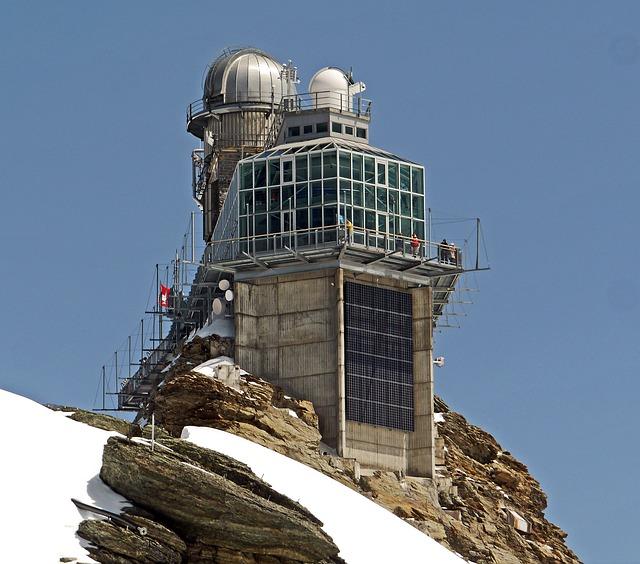 Observatory, Jungfraujoch, 3500m, Switzerland