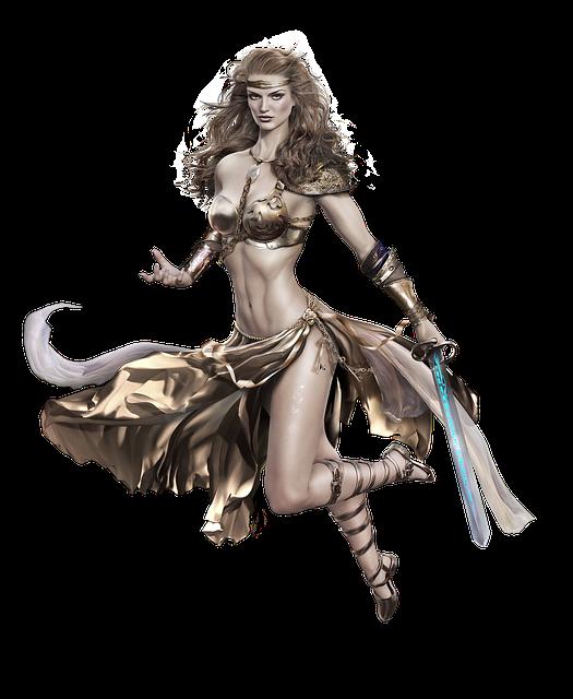 Warrior, Sword, Beautiful