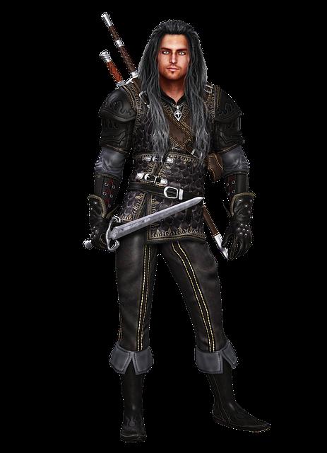 Man, Medieval, Historical, Sword, Weapon, Armor, 3d