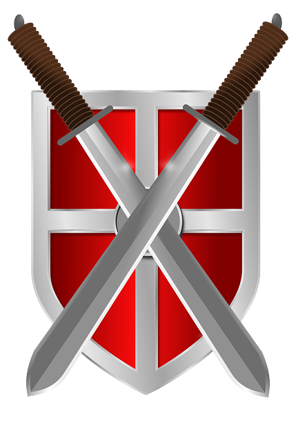 Shield, Swords, Knight, Medieval, Weapon, Warrior