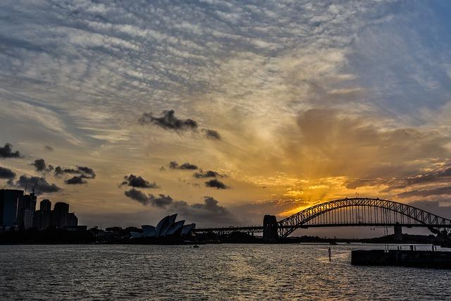 Australia, Sydney, Opera, Blue Day, Baiyun, Landscape