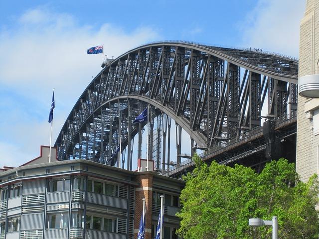 Harbour, Bridge, Sydney