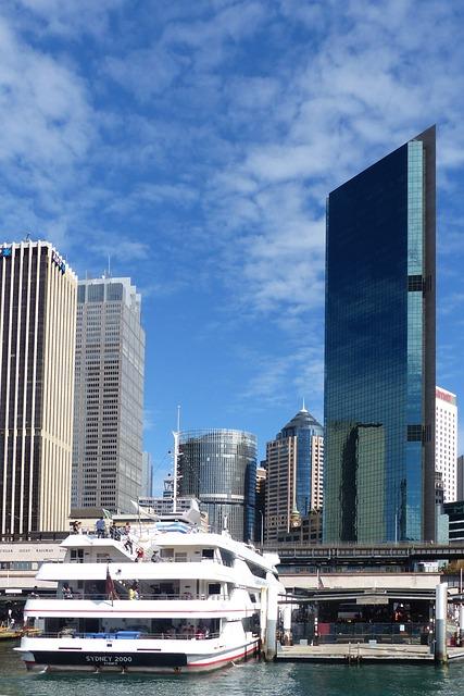 Sydney, Australia, City, Skyline, Buildings, Sky