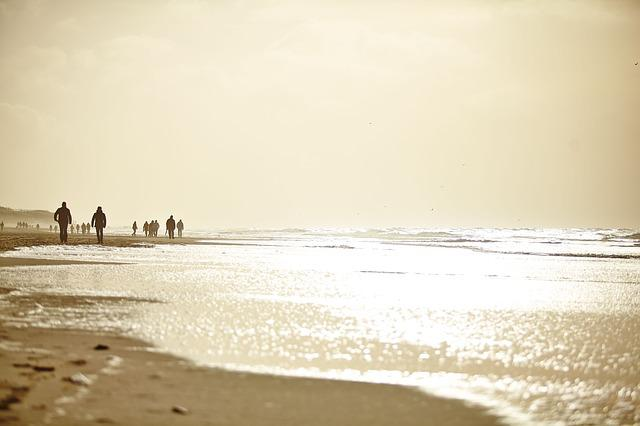 Beach, Condition, Sylt, Sonne, People