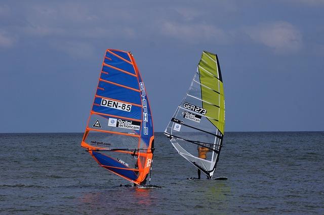 Sylt, Surf, Sport, Water Sports, Wind, Sea, Water