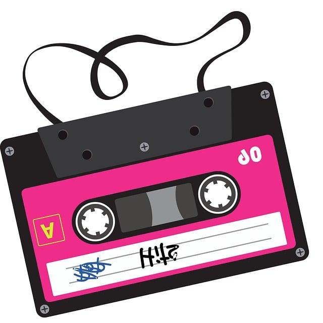 Cassette, Record, Graphics, Symbol, 80s, Tape Recorder