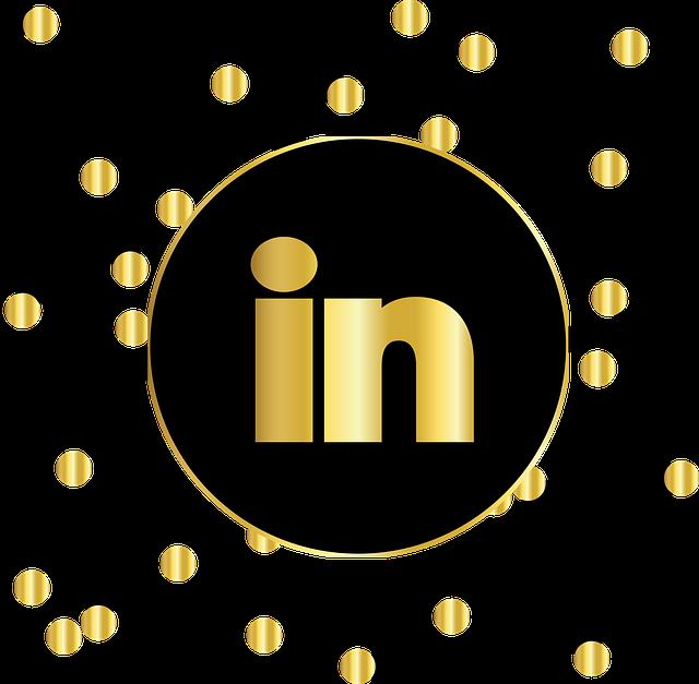 Linkedin, Social Media, Icons, Website, Symbol, Circle