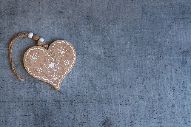 Heart, Wooden Heart, Symbol, Love, Welcome, Decorated