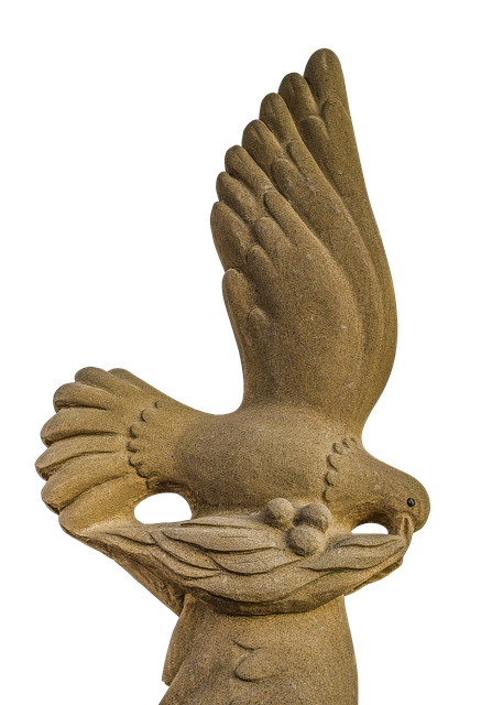 Harmony, Dove, Olive Branch, Symbol, Hope, Sculpture