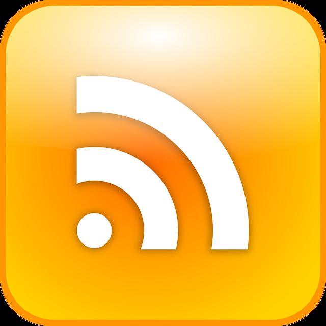 Rss Feed, Icon, Atom Feed, Button, Symbol