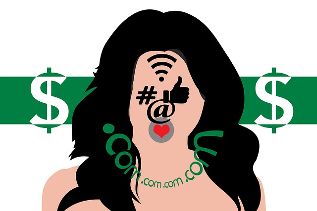 Influecer, Girl, Marketing, Internet, Symbol, Logo