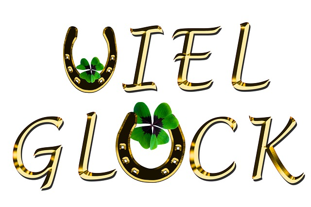 Symbol, Luck, Four Leaf Clover, Horseshoe, Good Luck