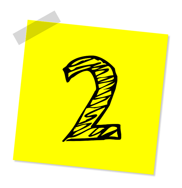 Two, 2, Number, Ranking, Rating, Business, Symbol, Icon