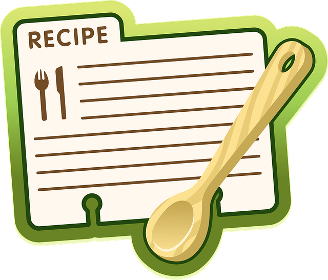 Recipe, Label, Icon, Symbol, Spoon, Recipes, Card, Food